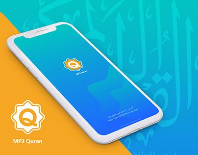 MP3 Quran App Redesign