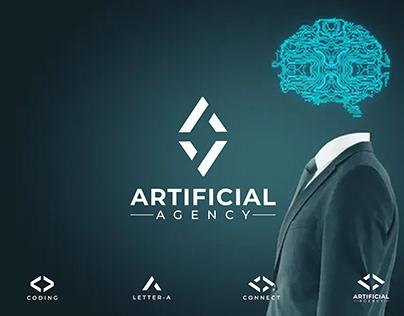 Artificial Agency Logo Design by Shahinur Rahman
