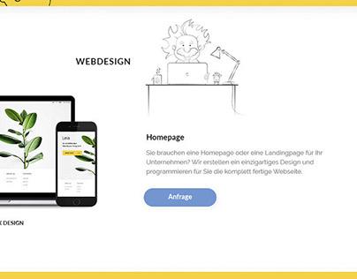 Website for Online Design Studio