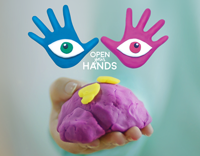 Open your hands - Play-Doh