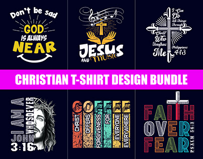 Best Christian T-Shirt Design Bundle