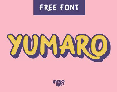 Free Yumaro Display Font