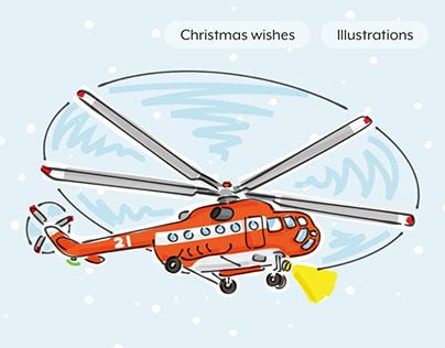 Netvlies - Christmas wishes