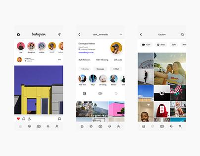 Brand New Instagram App Design