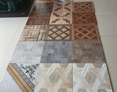 Ceramic Tiles Product Design - Expose Process