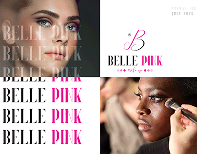 Belle Pink - Visual Identity