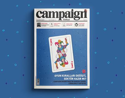 CAMPAIGN TURKIYE COVER DESIGN