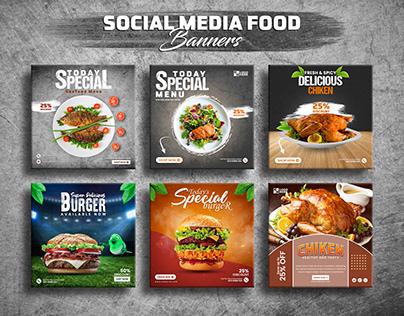 Seafood Banner Design