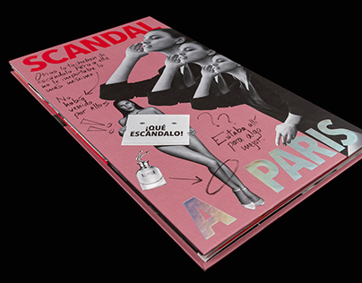 Holographic printing – Jean Paul Gaultier