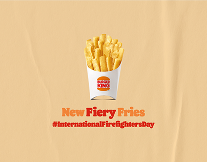 New Fiery Fries - #InternationalFirefightersDay
