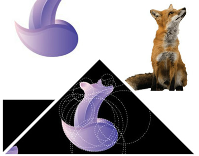 Golden ratio fox