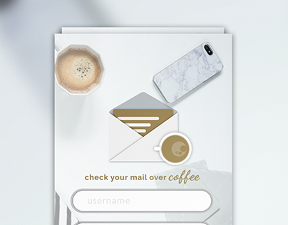 Daily UI Challenge 8: Email App