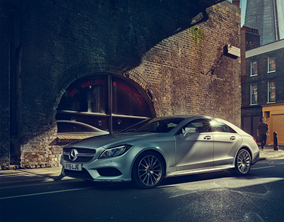 Mercedes-Benz CLS / London