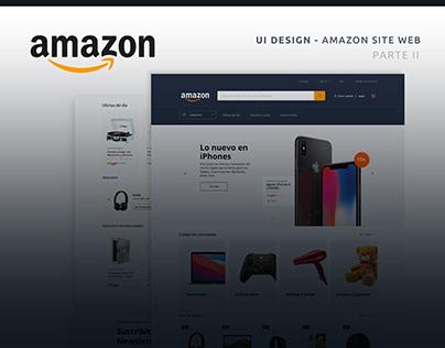 UI Design - AMAZON Redesign - Parte II