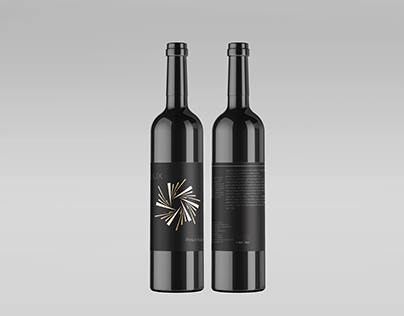 Celestial Winery (Wine Label Project