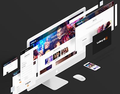 Valley DJ - Website Design and Development