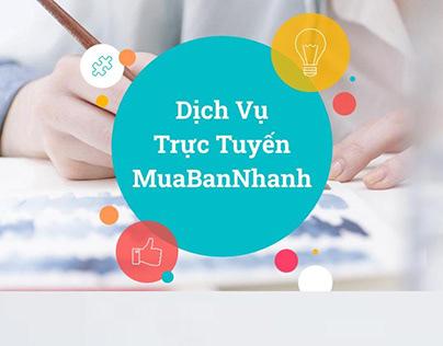 Dịch Vụ Trực Tuyến MuaBanNhanh