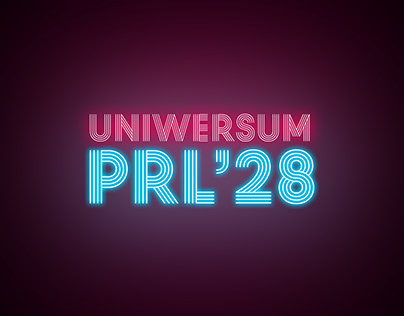 Uniwersum PRL 2028 Graphic layout