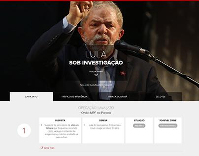Lula sob investigação