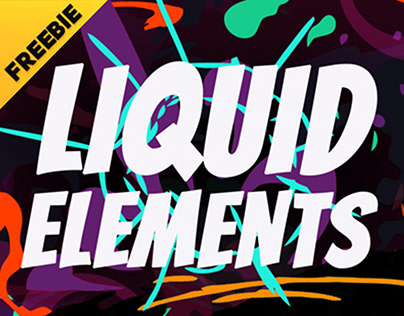 Liquid Elements - Animated Elements [Motion Graphics]