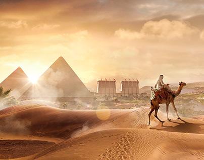 Matte Painting - Ancient Egypt