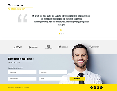 Landing Page - Payday Loan Advocates