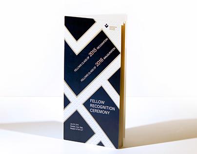 LGC Fellow Recognition Ceremony Program Book Spreads