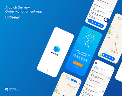 Araqich Delivery | Mobile and Web UI Design