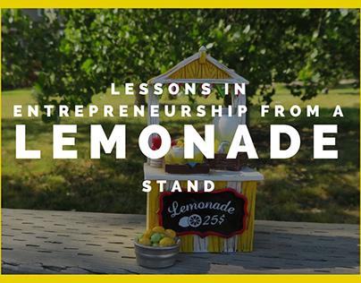 Lessons in Entrepreneurship from a Lemonade Stand