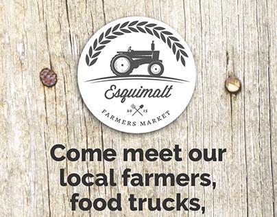Esquimalt Farmers Market Flyer