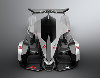 """Audi R24 ray-tron """"Project Gaian"""""""