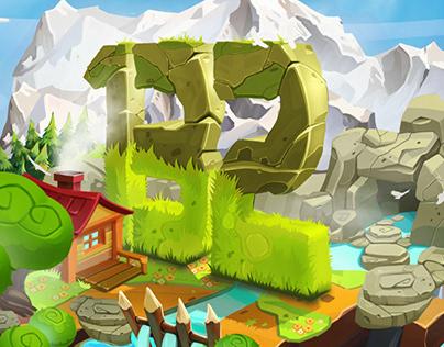 Level design for mobile game