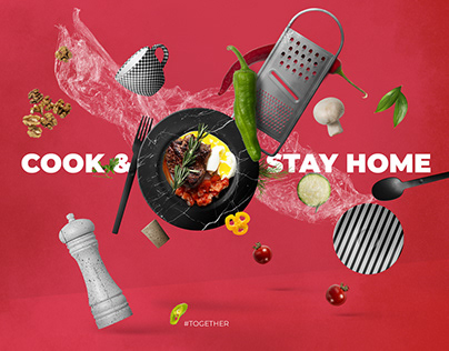3D Composition | Stay Home