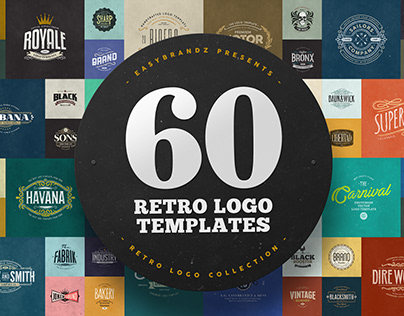 60 Logo Templates Bundle