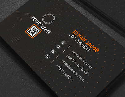 Corporate Abstract Business Card