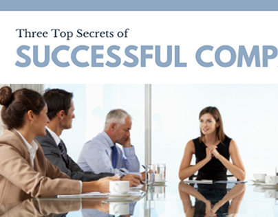 Three Top Secrets of Successful Companies