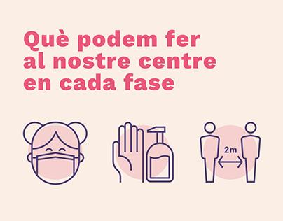 Infografías para centros de servicios sociales