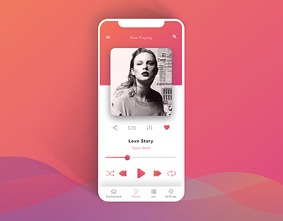 Music Player for DailyUI