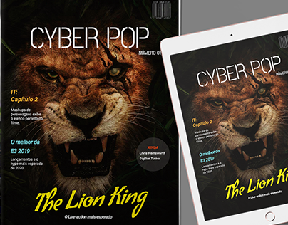CYBER POP I Editorial Design