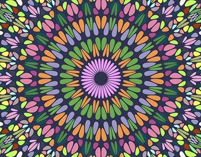 6 Floral Mandala Patterns