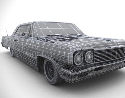 3D Model of a 64' Impala