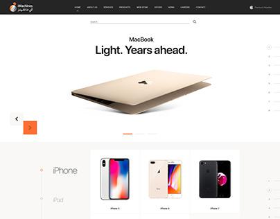 iMachines - Website Redesign Concept