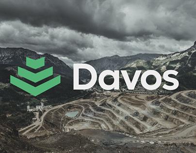 Visual identity - Davos Comercial e Extração Mineral