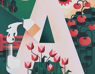 Samen - a nice little poster project