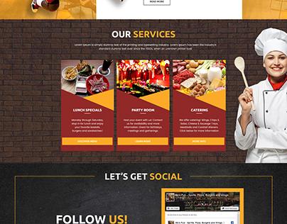 SportsPage _Website Design
