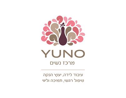 """Logo design for """"Yuno"""" - Women center"""