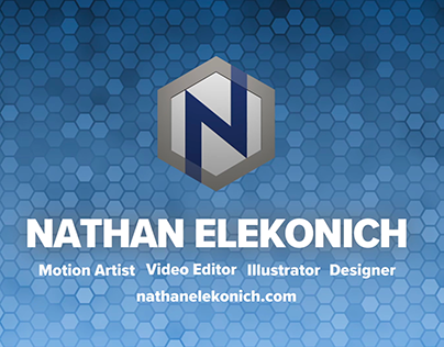 2017 Demo Reel - Nathan Elekonich