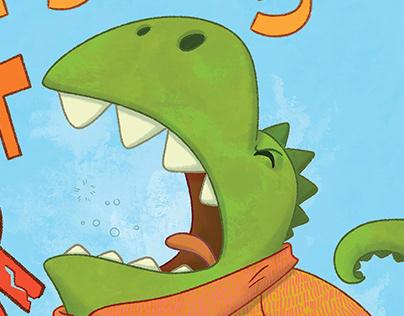 Dinosaurs can't roar.