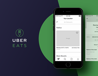 UberEats. Analyzed architecture, patterns& interactions