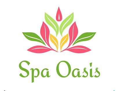 Spa Oasis Logo Template